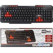 Teclado Computador Multimidia Mb Tech Usb Abnt2 Mb74155