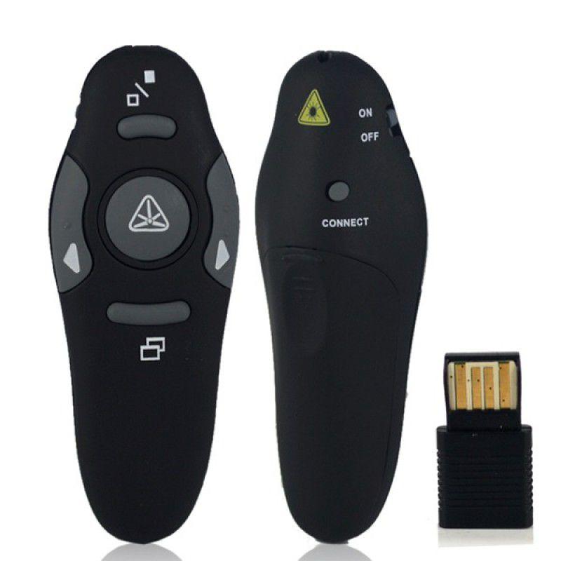 Apresentador S/ Fio Wireless C/ Apontador Laser (xt-2039)  - Mega Computadores