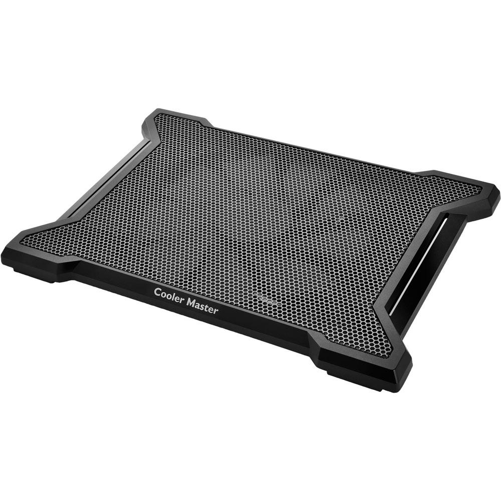 Base Refrigerada Para Notebook Cooler Master X-Slim II Preta R9-NBC-XS2K-GP - 1 FAN 200mm  - Mega Computadores