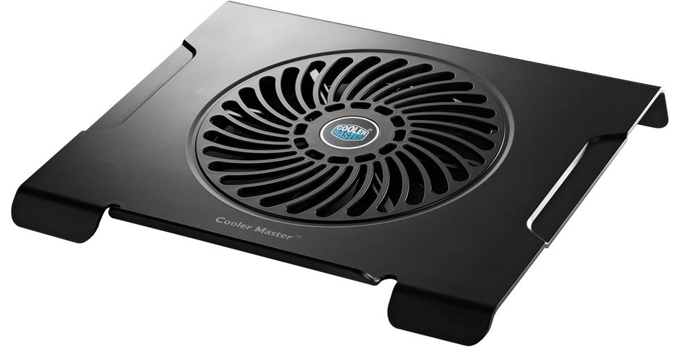 Base refrigerada para Notebook Cooler Master NotePal CMC3 - Com Cooler Silencioso de 200mm  - Mega Computadores