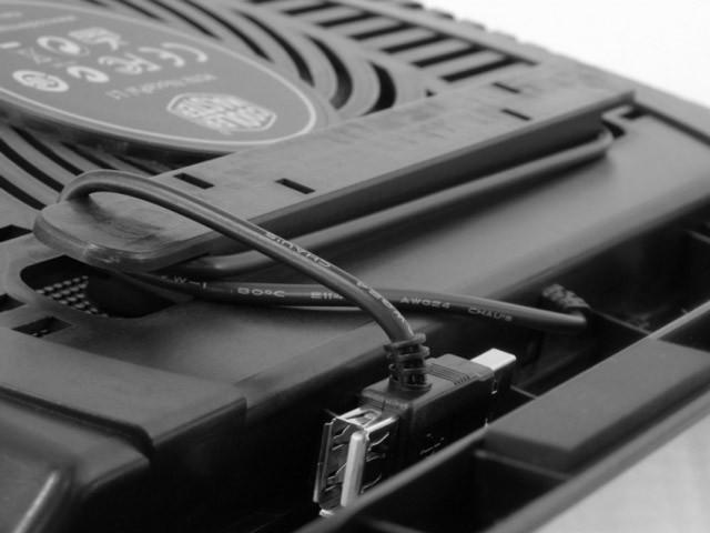 Base Refrigerada Para Notebook Cooler Master Notepal L1 - R9-NBC-NPL1-AD  - Mega Computadores