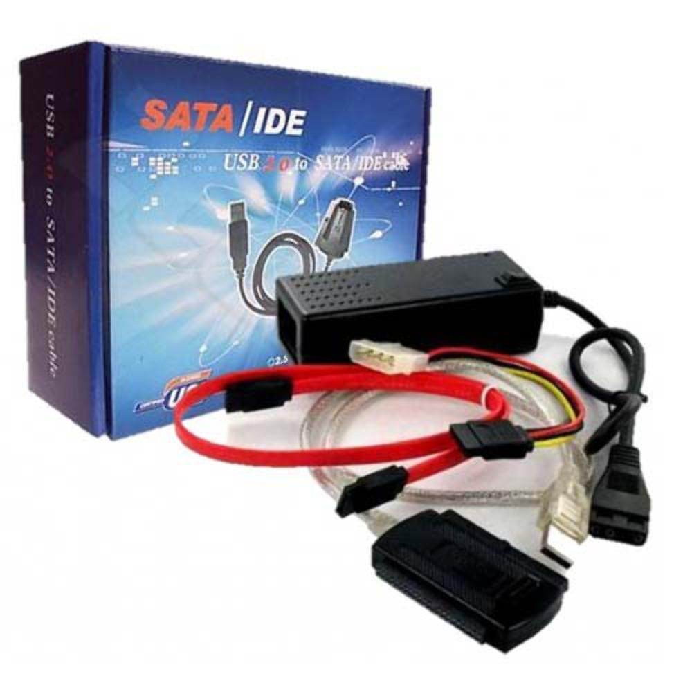 Conversor USB/Sata e IDE Global 3 em 1  - Mega Computadores