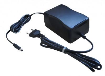Fonte 24VDC/3A Fontek 2403 Plug P4 2,1mm  - Mega Computadores