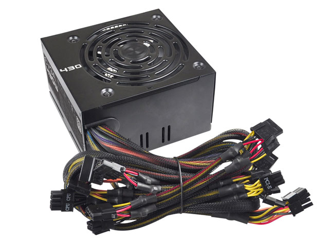 Fonte 430W EVGA 100-W1-0430-KR - 80Plus, PFC Ativo, Bivolt Automático  - Mega Computadores