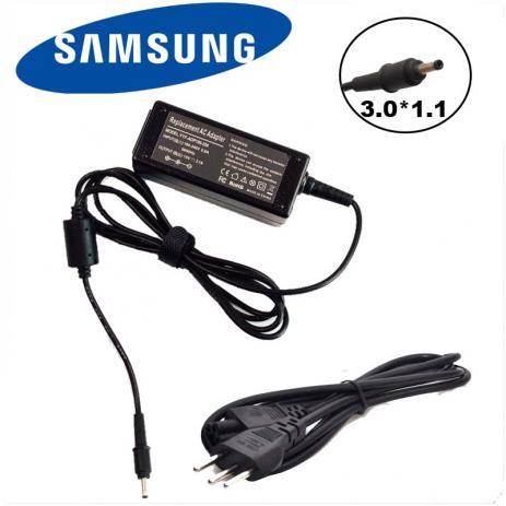 Fonte Carregador Ultrabook Samsung 19v 2.1a 40w Pino Fino  - Mega Computadores