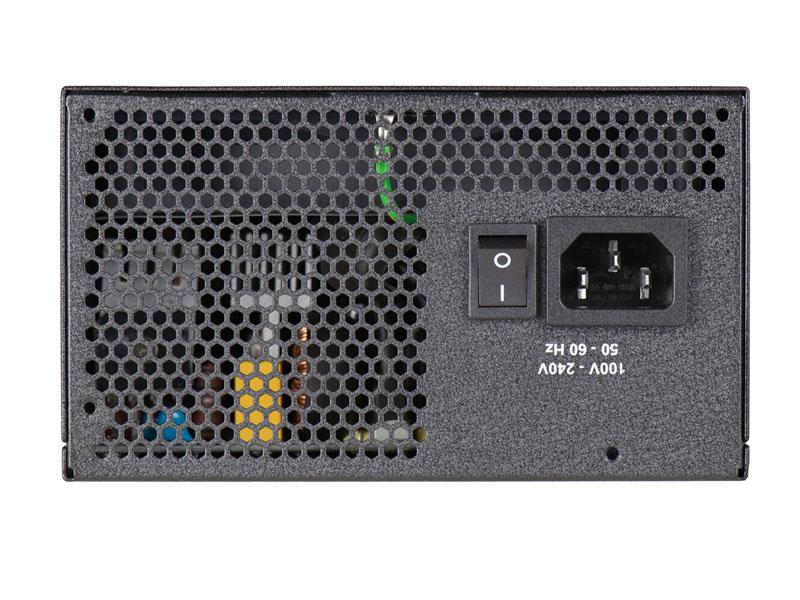 Fonte EVGA 750W Modular 110-BQ-0750-V0 80Plus Bronze PFC Ativo  - Mega Computadores