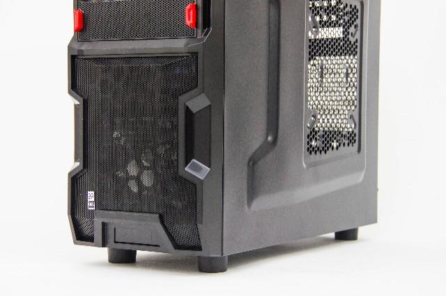 Gabinete BR1 CL-B30 Gamer Preto  - Mega Computadores