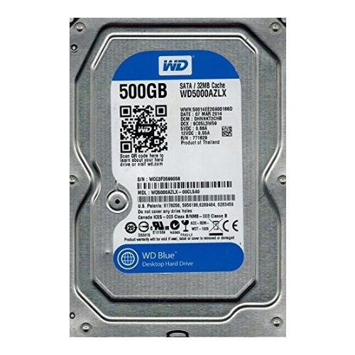 HD Western Digital 500GB WD5000AZLX Sata3 6.0Gb/s 32MB Buffer  - Mega Computadores
