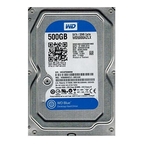 HD Western Digital 500GB WD5000AZLX Sata3 6.0Gb/s 32MB Buffer  - Mega Computadores