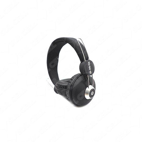 Headphone P2 Com Fio De Nylon B-Max 2670 (Varias Cores)  - Mega Computadores