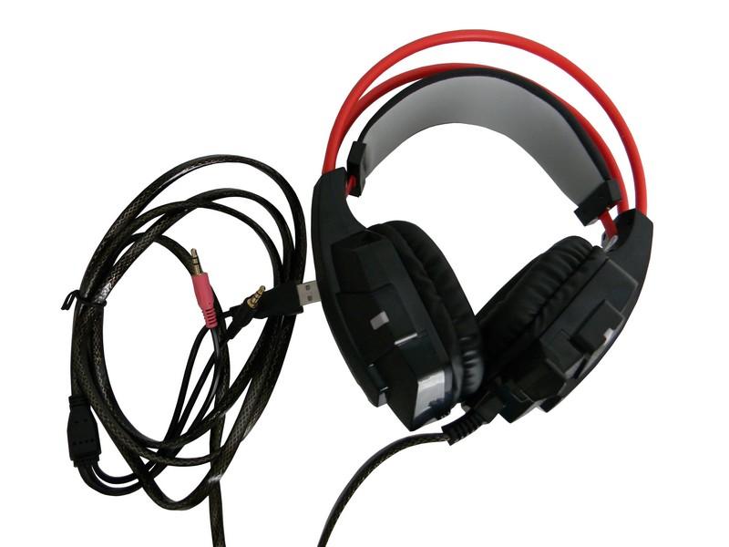 Headset Gamer X-Soldado GH-X20 Infokit Com Microfone  - Mega Computadores