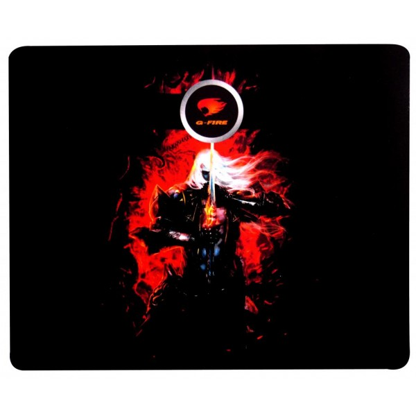Mouse Pad Gamer G-Fire MP2014BGSB 320x265x5mm Emborrachado  - Mega Computadores