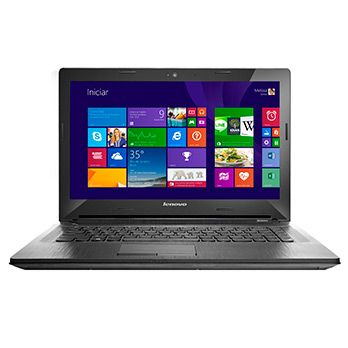 "Notebook Lenovo G40-70 Com Intel Core I3-4005U, 4GB de Memória, HD 1TB, Tela 14"", DVD-RW, Wireless e Windows 8.1 - Mega Computadores"