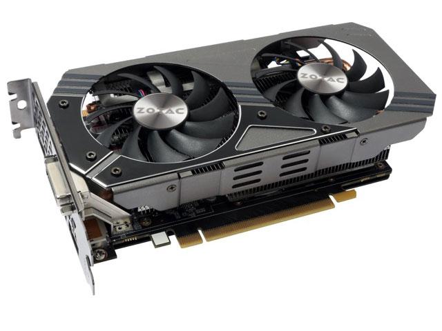 NVidia Geforce GTX 960 4GB 128-Bit GDDR5 7010MHz 1177MHz 1024 CUDA CORES Zotac ZT-90308-10M - DVI|HDMI|DP  - Mega Computadores