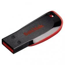 Pen Drive Sandisk Cruzer Blade Z50 8gb  - Mega Computadores