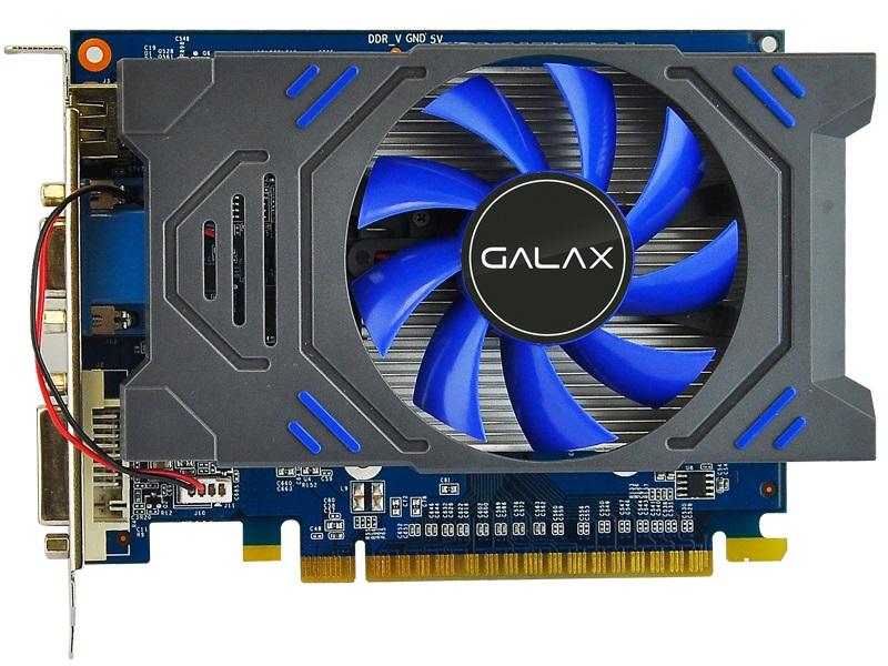 Placa de Vídeo Geforce GT 730 2GB 64-Bit DDR5 5GHz/901MHz Galax 73GPH4HXB2TV - 384 Cuda Cores  - Mega Computadores