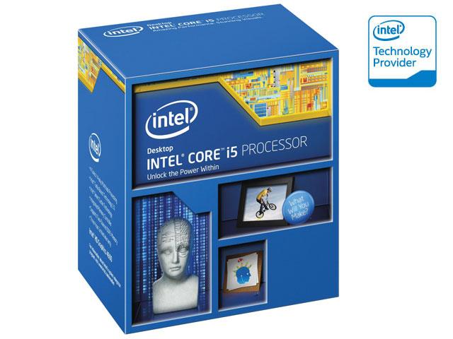 Processador Intel Core I5-4460 3.2GHz (3.4 Max Turbo) 6MB Cache BX80646I54460 LGA150 Com Intel® HD Graphics 4600  - Mega Computadores
