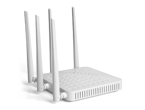 Roteador AC High Power Link One L1-RWH1235AC 1200Mbps Dual Band 5 Antenas 5dBi Externas Omnidirecionais  - Mega Computadores