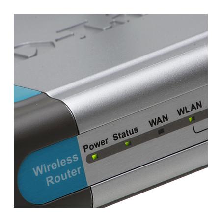 Roteador D-Link DI-524 Wireless N 150Mbps - 4 Portas LAN/1 Porta WAN  - Mega Computadores