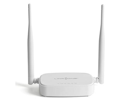 Roteador Link One L1-RW332 Wireless N 300Mbps 3LAN 1WAN 2 antenas 5dBi  - Mega Computadores