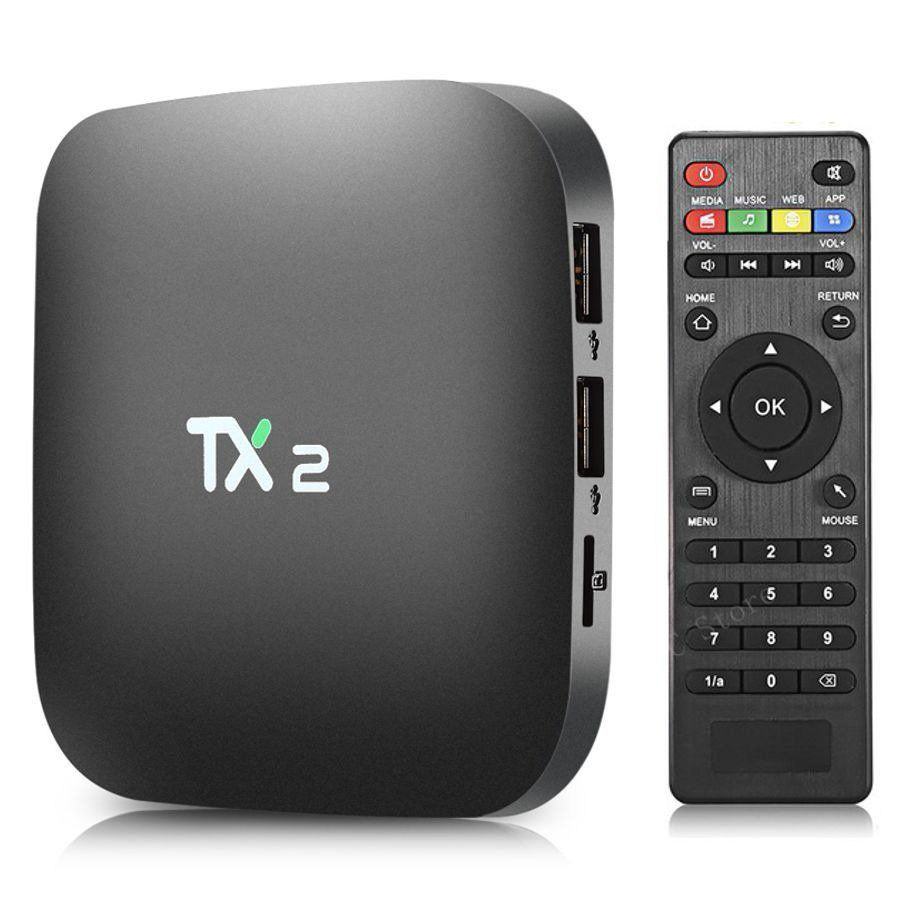 Smart Tv Box Tx2 Android 7.1 2gb Ram 16gb Rom Bluetooth   - Mega Computadores