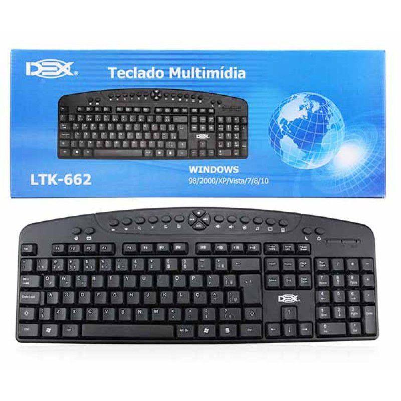 Teclado Usb Mult Dex Ltk-662    - Mega Computadores