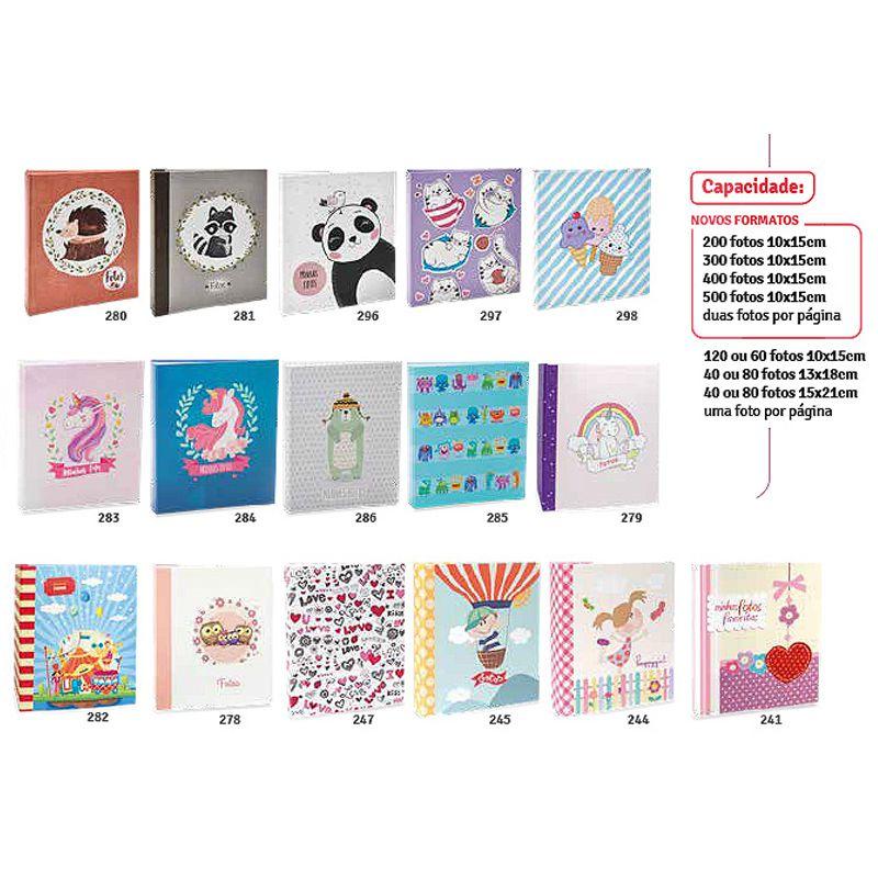 Álbum Fotográfico 10x15 (Coleção: INFANTIL)