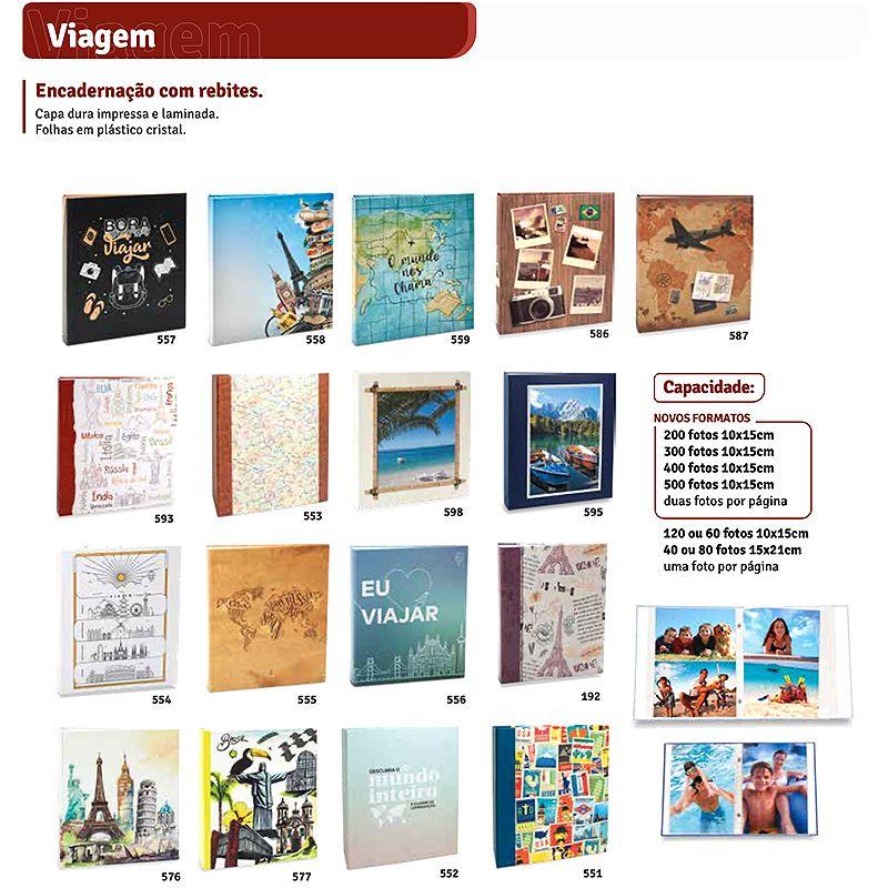 Álbum Fotográfico 10x15 (Coleção: VIAGEM)