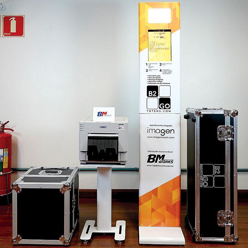 KIT 1: Totem B2GO + Mesa impressora