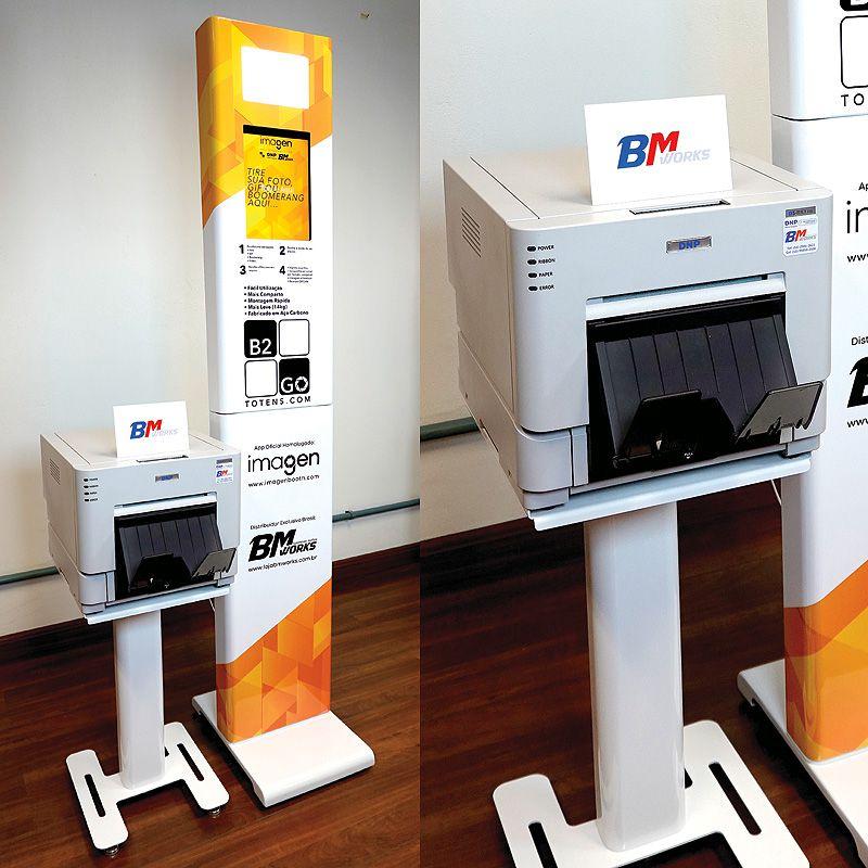 KIT 2: Totem B2GO + Mesa para impressora + Case do totem B2GO