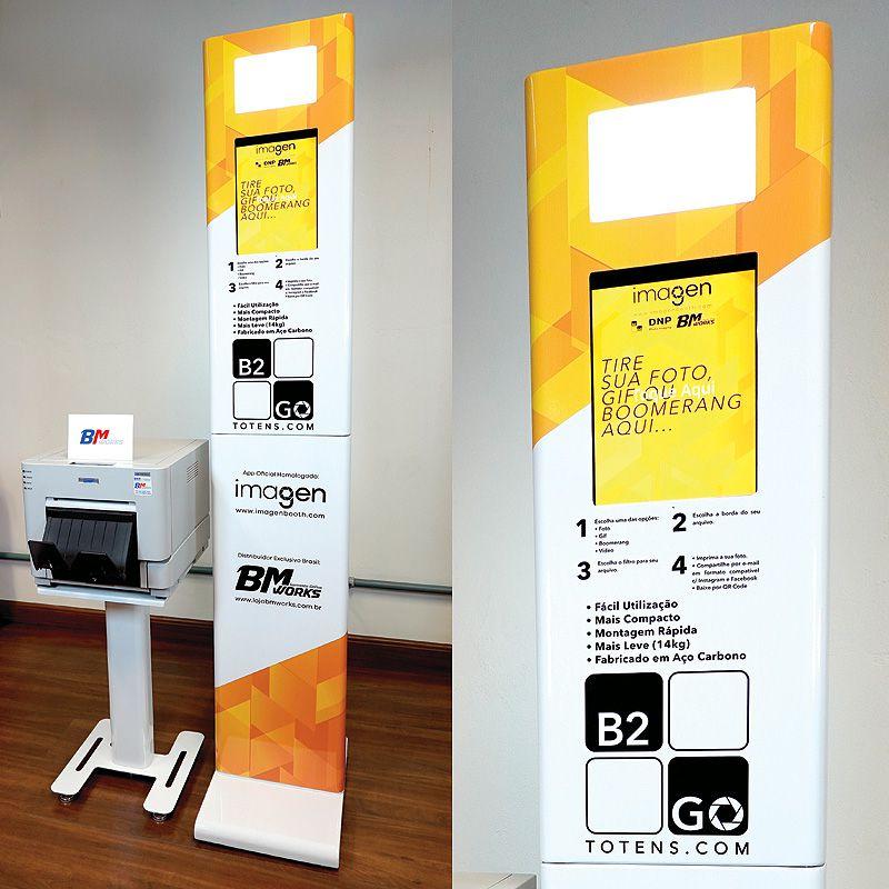 KIT 3: Totem B2GO + Impressora DNP RX1HS