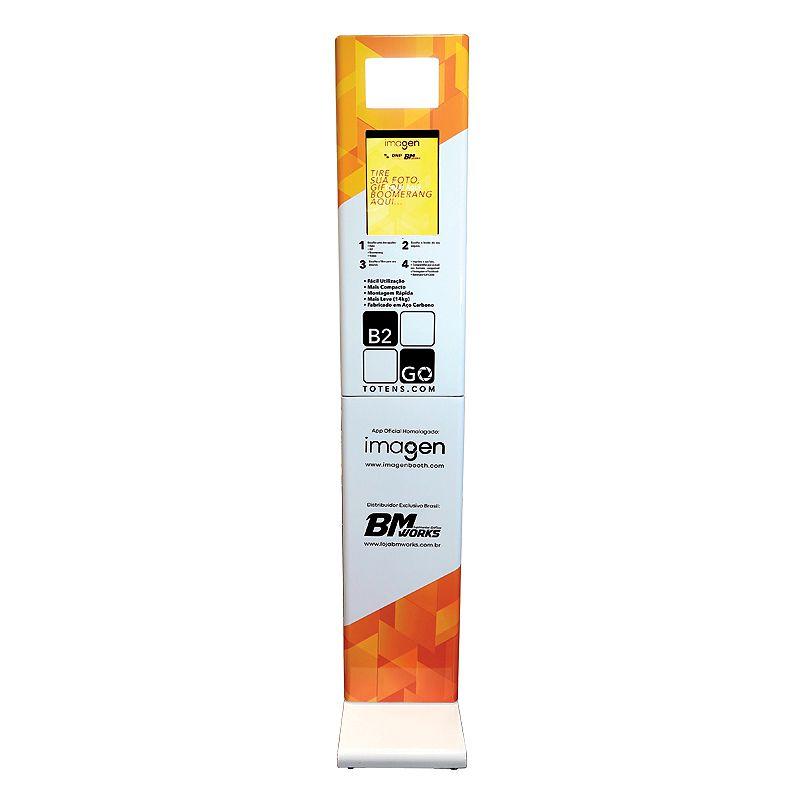 KIT 6: Totem B2GO + Mesa impressora + Impressora DNP RX1HS