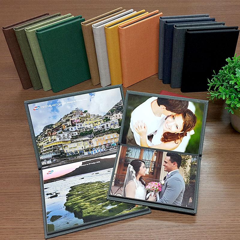 Kit contendo 4 álbuns para fotos 15x20 (10 fotos)