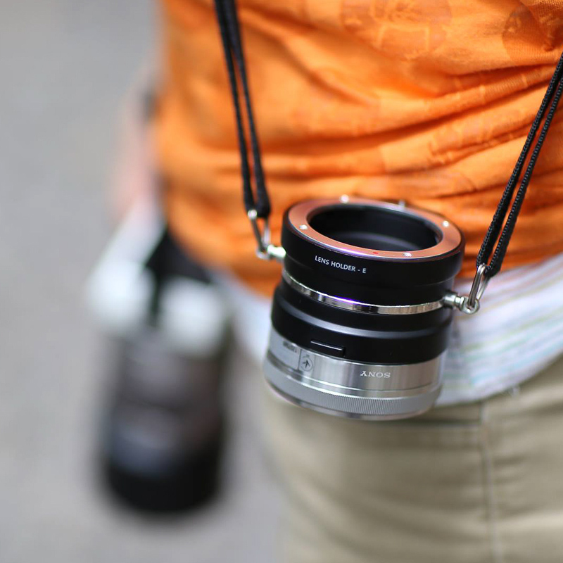 Suporte Gowing para lentes Canon