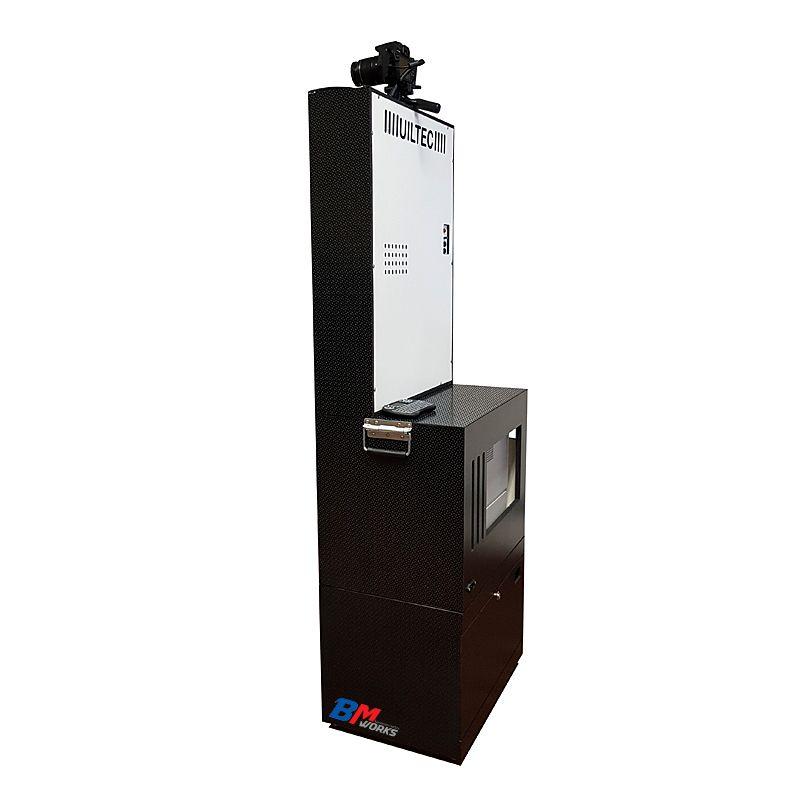 Totem Fotográfico (BLACK) Dslr (Canon T6) (COM) Impressora DNP RX1