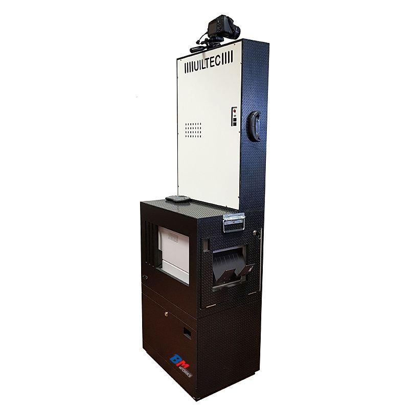 Totem Fotográfico (BLACK) Dslr (Canon T6) (SEM) Impressora DNP RX1