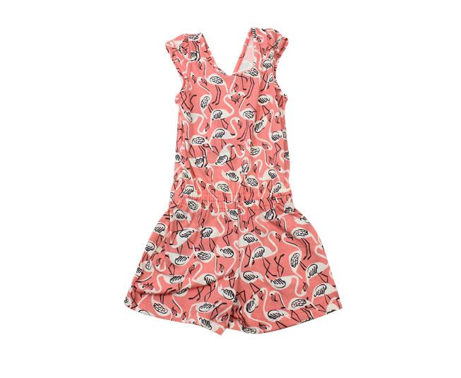 Macacão Rosa de Flamingos Brandili