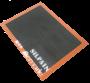 Silpain de fibra de vidro siliconado perfurado de qualidade alimentar