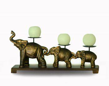 Elefante vela bola