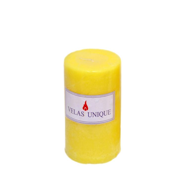 Vela cilíndrica 6x10 citronela
