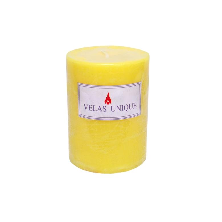 vela cilíndrica 7,5x10 citronela