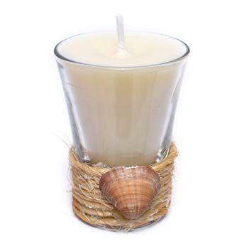 vela copo concha