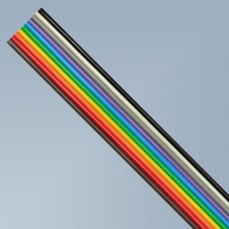CABO FLAT SN 10X24AWG 300V 70C