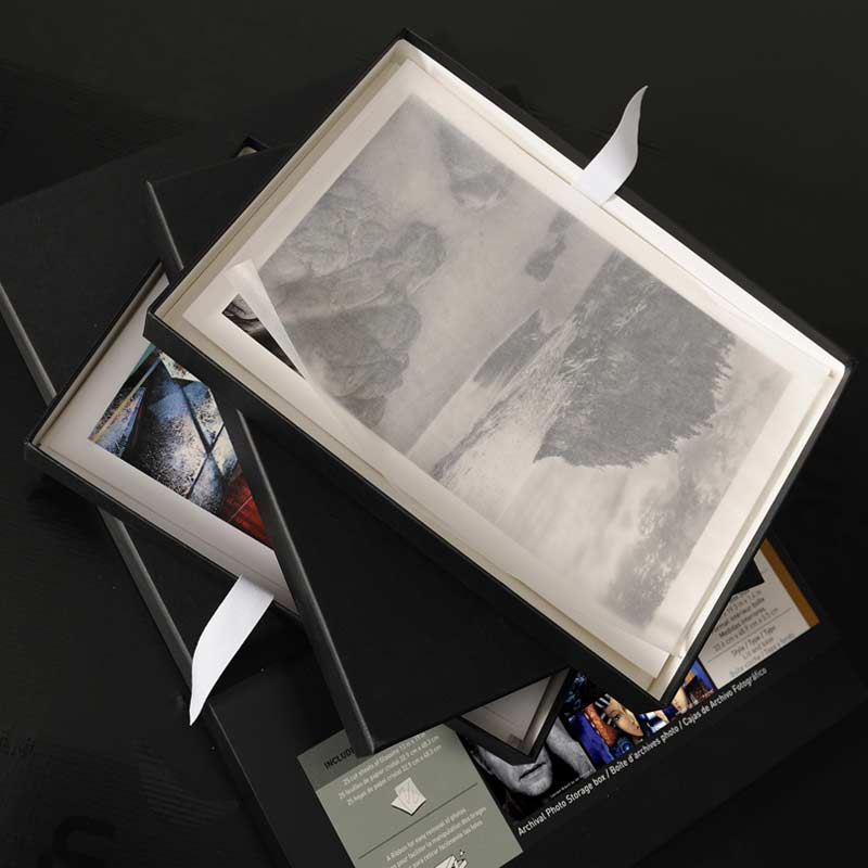 Caixa Portfólio Padrão Museológico Canson® Infinity