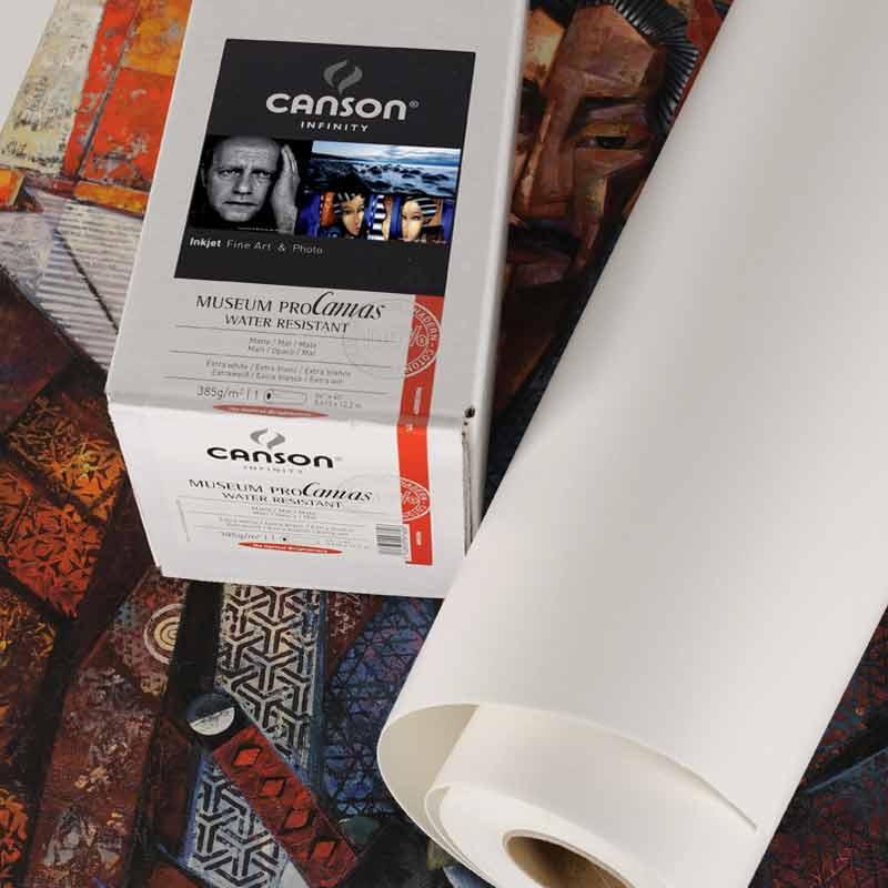 Canson® Infinity Museum ProCanvas 385g/m²