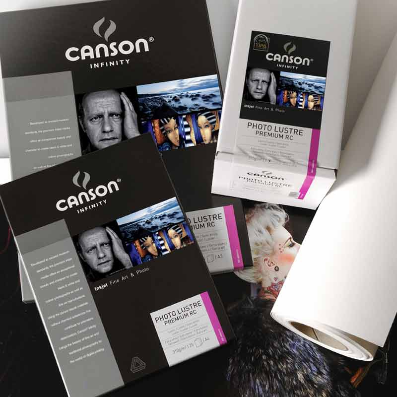 Canson® Infinity Photo Lustre Premium RC 310 g/m²