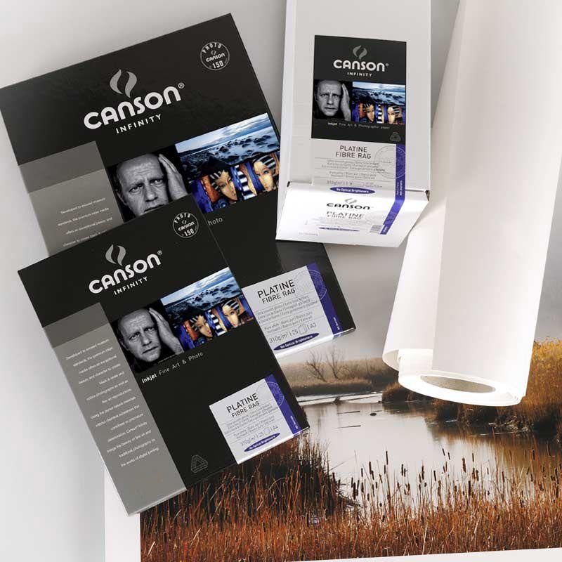 Canson® Infinity Platine Fibre Rag 310 g/m²