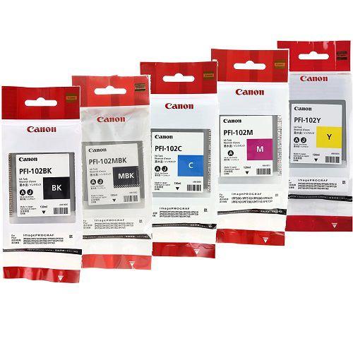 Cartucho de tinta Canon PFI102 (130ml)