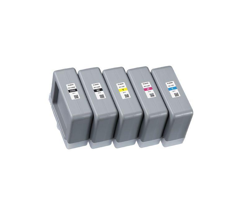 Cartucho de tinta Canon PFI110 (160mL)