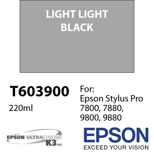 Cartucho de tinta Epson T603 UltraChrome K3 (220ml)